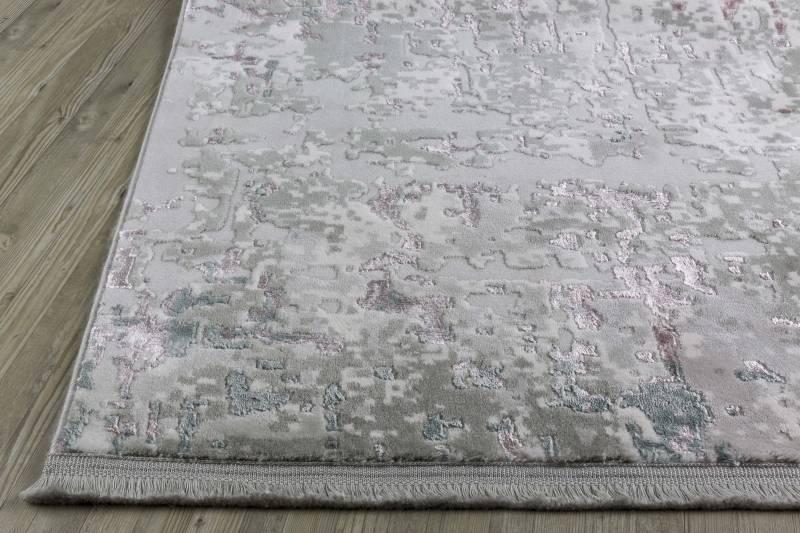 Koza Halı Farahan Gri-Pudra Akrilik Halı 45246A - 2