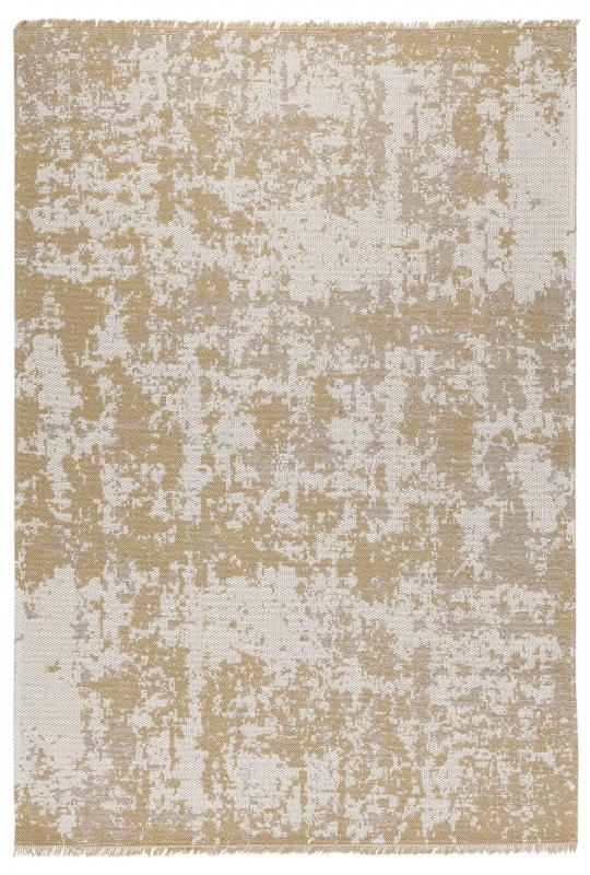 Koza Halı Casa Cotton Hardal Vizon Kilim B2694A - 2