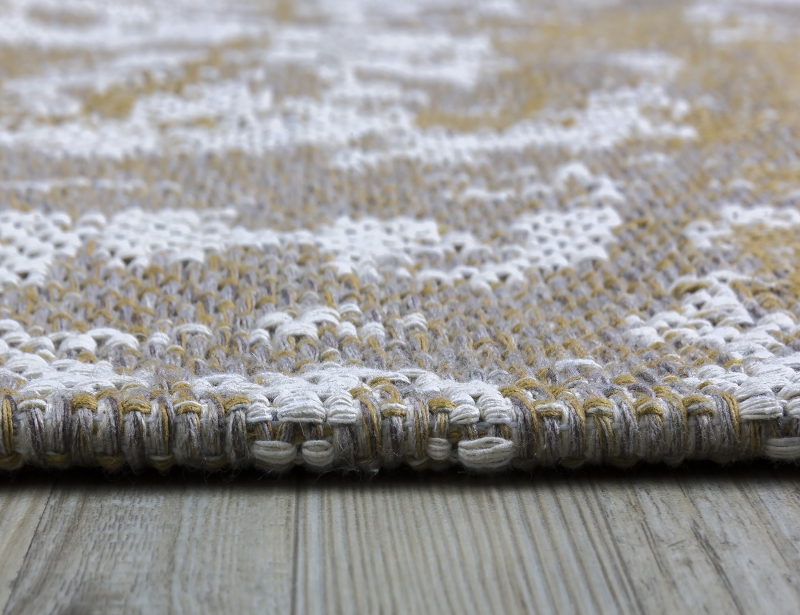 Koza Halı Casa Cotton Hardal Vizon Kilim B2694A - 5