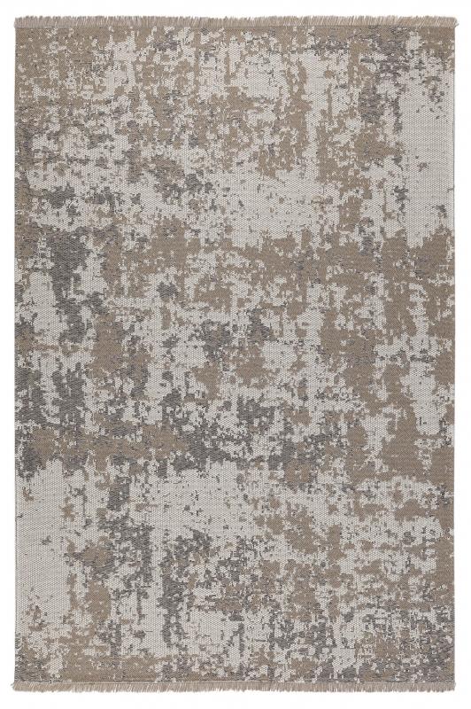 Koza Halı Casa Cotton Vizon Gri Kilim B2694A - 2