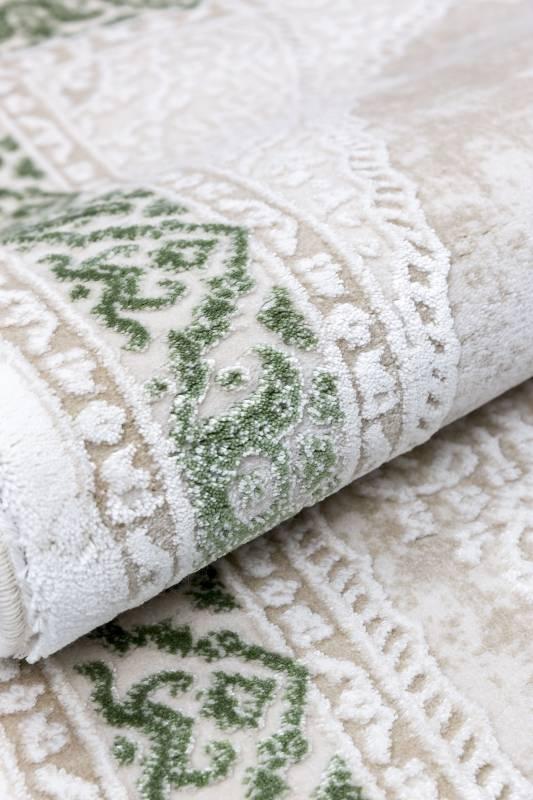 Koza Halı Nevizade Yeşil Akrilik Halı 45201A - 3