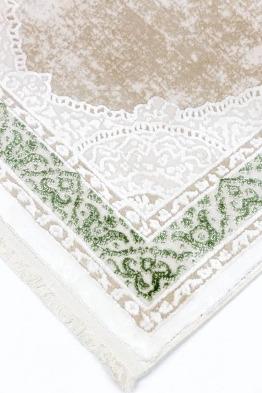 Koza Halı Nevizade Yeşil Akrilik Halı 45201A - 4