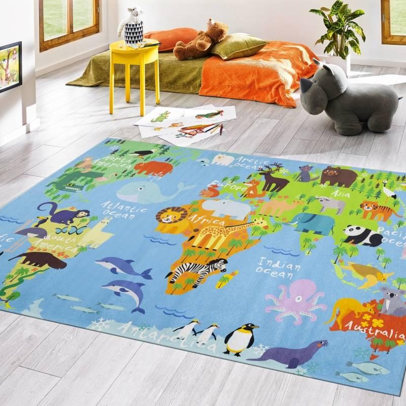 Koza Halı Style Çocuk Halısı Oyun Halısı 1002 - 1