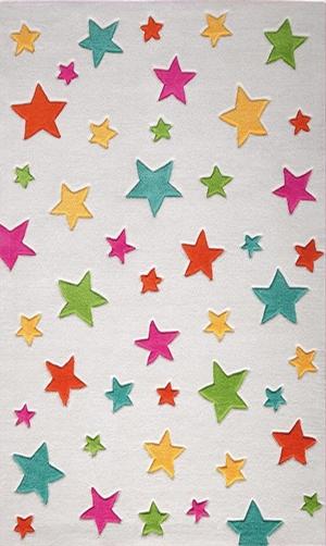 Meva Yıldızlı Çocuk Halısı MEVA701 - 1