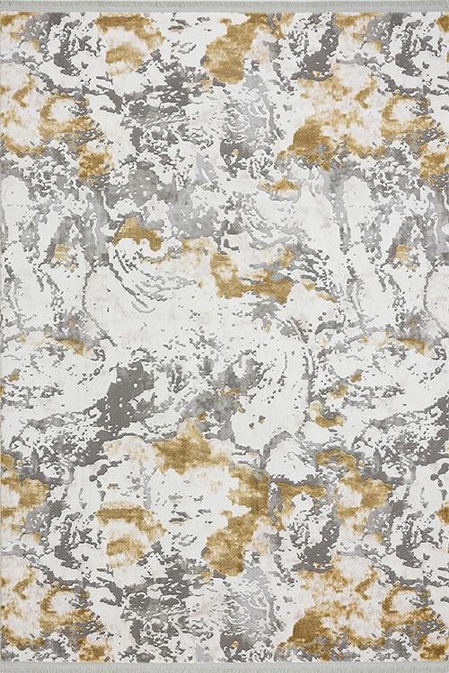Tuval Halı Still 125 Sarı - 2