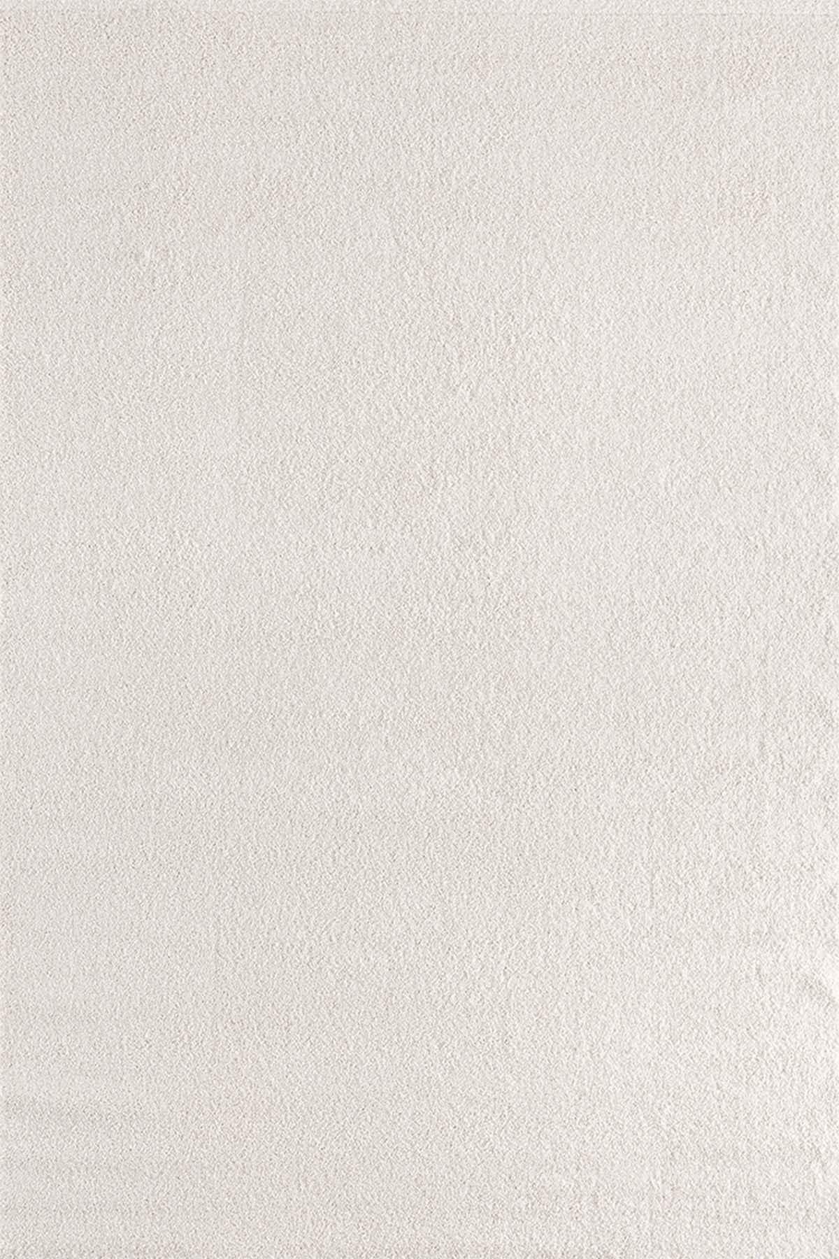 Tuval Halı  Süpersoft 3849 Beyaz