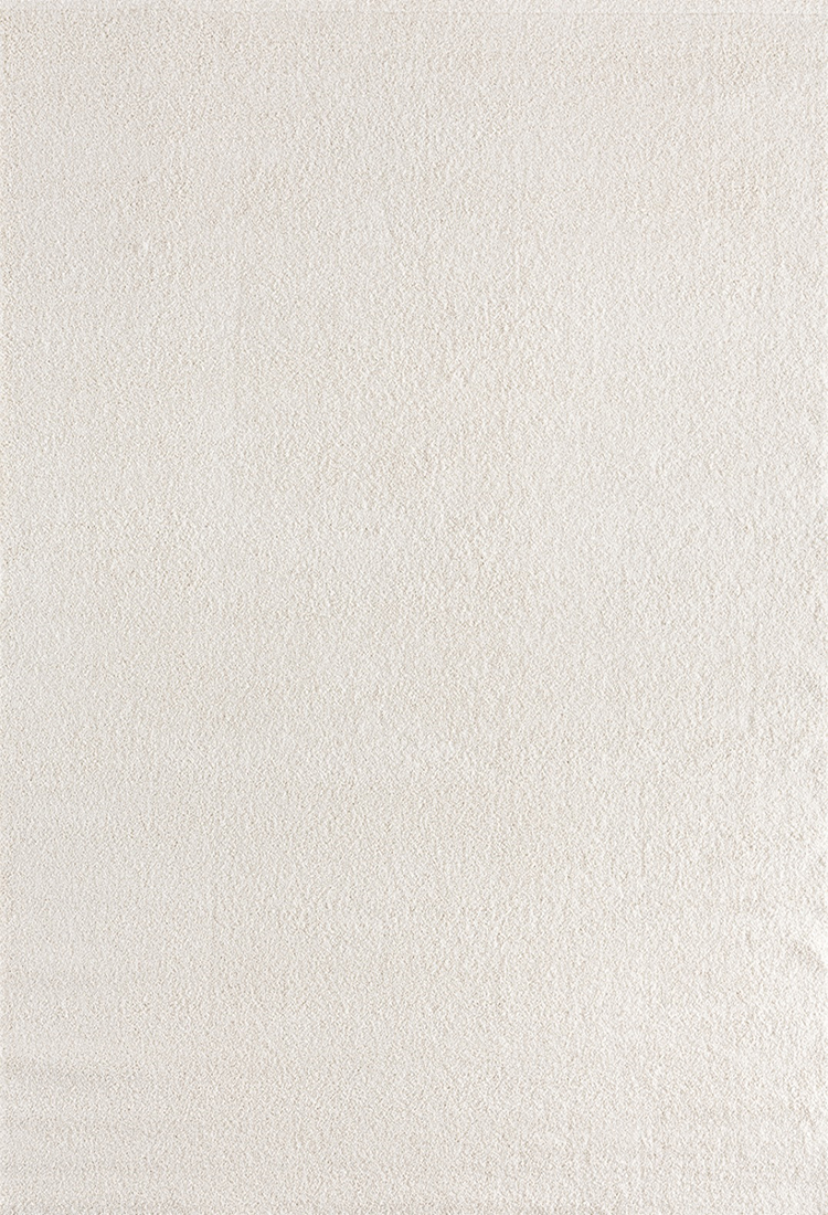 Tuval Halı  Süpersoft 3849 Beyaz - 1