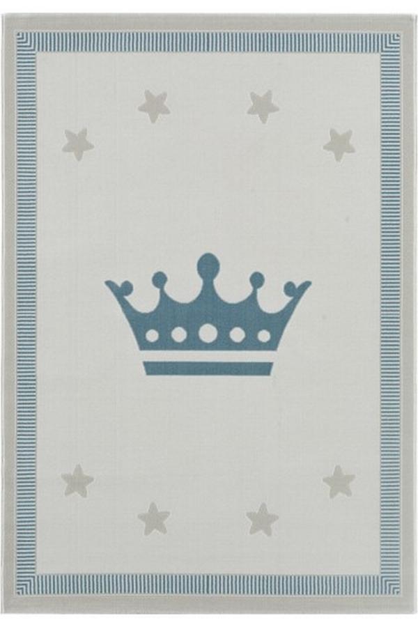 Tuval Halı Çocuk Halısı Mavi ST302M - 1